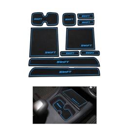 Suzuki Swift PVC Non Slip Interior Mats Blue - Model 2010-2018-SehgalMotors.Pk
