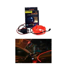 Maximus EL Glow Wire for Interior  / Dashboard LED Light 2Meters (6ft) - Red-SehgalMotors.Pk