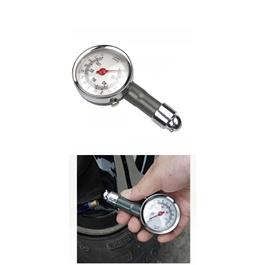 Tire / Tyres Air Pressure Gauge Analogue | High Precision Car Tire Pressure Gauge Manometer Mini Dial AUTO Air Pressure Meter Tester Car Diagnostic Repair Tool