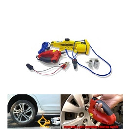 Car Electronic jack With Wrench Kit Drill (without Box)-SehgalMotors.Pk
