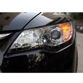 Honda Civic Headlight / Head Lamp Projection Black V3 - Model 2006-2012-SehgalMotors.Pk