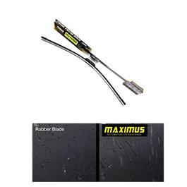 Maximus Premium Silicone Wiper Blades – 21 Inches | Car Wiper Blade | Rubber Car Windshield Wipers | Windscreen Windshield Wipers Auto Accessories-SehgalMotors.Pk