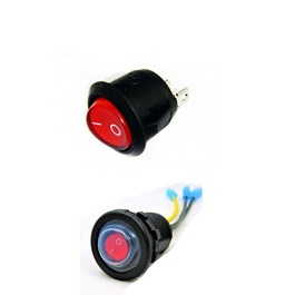 Universal Extra Switch Button For Operation of Car Electronic Devices | On / Off Switch-SehgalMotors.Pk