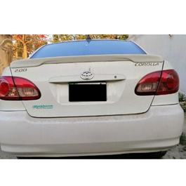Toyota Corolla New Style Slim Spoiler - Model 2008-2012-SehgalMotors.Pk