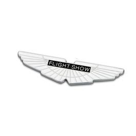 Flight Show/aston Martin Emblem   Decal   Monogram   Logo-SehgalMotors.Pk