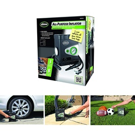 Slime All-Purpose 12V Dual Raft Pump Tire / Tyre Inflator Air Compressor-SehgalMotors.Pk