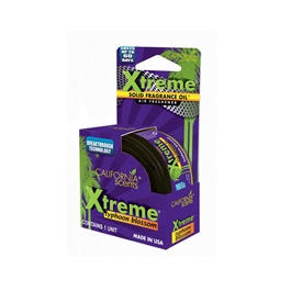 California Scents Xtreme Air Freshener Car Perfume Fragrance - Typhoon Blossom-SehgalMotors.Pk
