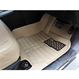 Toyota Corolla 5D Custom Floor Mat Beige - 2014-2017-SehgalMotors.Pk