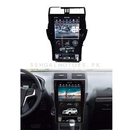 Toyota Prado New LCD multimedia IPS Display System Tesla Android - Model 2018-2019-SehgalMotors.Pk