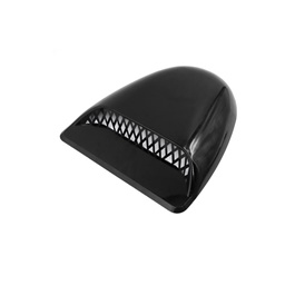 Universal Air Flow for Hood V Shape - Black 5033 | Automotive Universal Body Hood Decorative Air Vent | Car Air Inlet Cover-SehgalMotors.Pk