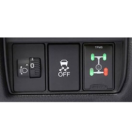 Toyota Prado In Dash TPMS Tire / Tyre Pressure Monitoring System- Model 2009-2019-SehgalMotors.Pk
