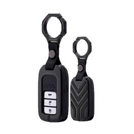 Honda Civic Key Shell Keycase Matte Black - Model 2016-2020-SehgalMotors.Pk