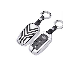 Toyota Fortuner Key Shell Keycase Full Chrome - Model 2016-2020-SehgalMotors.Pk
