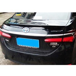 Toyota Corolla Pure ABS Trunk Spoiler - Model 2017-2020-SehgalMotors.Pk