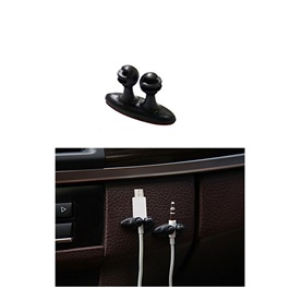 Multipurpose Cable Wire Clips Holder Grip 1PC - Black-SehgalMotors.Pk