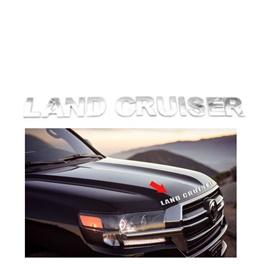 Toyota Land Cruiser Words Alphabet Letters Bonnet Hood Logo-SehgalMotors.Pk