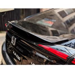 Honda Civic Slow Rider Style Unpainted ABS Spoiler - Model 2016-2020-SehgalMotors.Pk