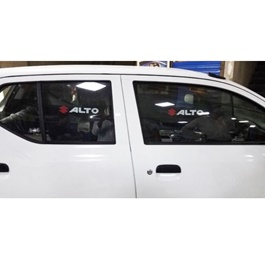 Suzuki Alto Side Sunshade / Sun Shades with Logo - Model 2018-2020