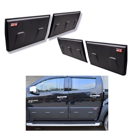 Isuzu D-Max / DMax / D Max New Style Door Body Cladding Thailand - Model 2018-2020-SehgalMotors.Pk