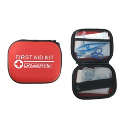 First Aid Medical Kit For Emergency - Box | Emergency Survival Kit Mini Family First Aid Kit Sport Travel kit Home Medical Bag Outdoor Car First Aid Kit |  Portable Travel First Aid Kit Outdoor Camping Emergency Medical Bag Bandage Band Aid Survival Kits Self Defense-SehgalMotors.Pk
