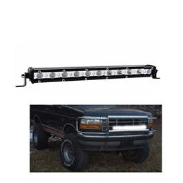 12 SMD Slim Style Roof LED Bar Light | High Accuracy Jeep Light | Sharp Light | Jeep Decoration Light | Flood Spot Combo Beam Offroad Light Driving Fog Lamp-SehgalMotors.Pk