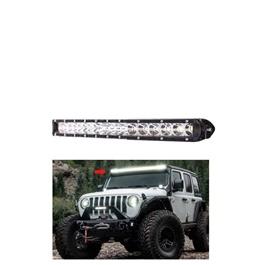 18 SMD Slim Style Roof LED Bar Light | High Accuracy Jeep Light | Sharp Light | Jeep Decoration Light | Flood Spot Combo Beam Offroad Light Driving Fog Lamp-SehgalMotors.Pk