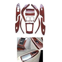 Toyota Corolla Wood Style Interior - Model 2008-2012-SehgalMotors.Pk