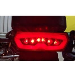 Universal Bike Neon Style Brake Lamp | Tail Lamp | Brake Light | Running Light For Motorcycle | Motorcycle Turn Signal Tail Light Brake Stop Running Indicator Integrated Signal Lights-SehgalMotors.Pk