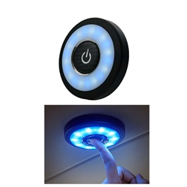 Multi-Function LED Dome Roof SMD Light with Power Button Y-978-SehgalMotors.Pk