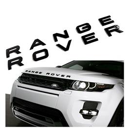 Range Rover Bonnet Emblem - Black | Emblem | Decal | Monogram | Logo-SehgalMotors.Pk