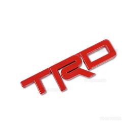 TRD 3D Emblem Metal - Red   Emblem   Decal   Monogram   Logo-SehgalMotors.Pk