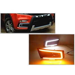 Suzuki Vitara Fog Lamp DRL Covers Dual LED - Model 2016-2020-SehgalMotors.Pk