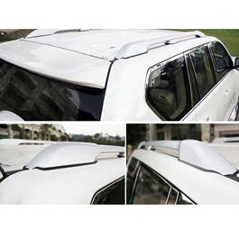 Toyota Prado Complete Roof Rack | Roof Rail Full Chrome - Model 2009-2018-SehgalMotors.Pk