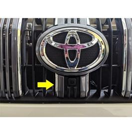 Toyota Prado OEM Genuine Camera - Model 2018 | Car Parking Camera | Security Camera | Front Guide Line Parking Backup Camera-SehgalMotors.Pk