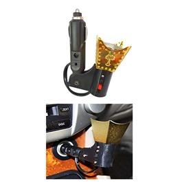 Car Electric Incense Burner Bakhoor Oil wood Oud Oudh Air Freshner Burner-SehgalMotors.Pk