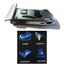 Car Phone Holder Car Shape Mobile Phone Holder with Mobile Number Parking Plate-SehgalMotors.Pk