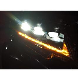 Toyota Prado Headlight / Head Lamp Left Side LX570 Style - Model 2009-2019-SehgalMotors.Pk