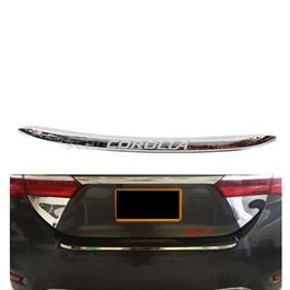 Toyota Corolla Back Bumper Lower Lip Chrome Moulding Each – Model 2014-2020 MA00796-SehgalMotors.Pk