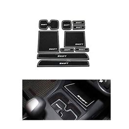 Suzuki Swift PVC Interior Mats White - Model 2010-2018-SehgalMotors.Pk