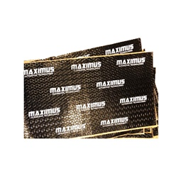 Maximus Sound Damping Deadening Sheet Premium Black - Each | Noise Reduction | Vibration Reduction | Shock Proofing-SehgalMotors.Pk
