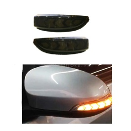 Toyota Vitz Neon Style Side Mirror Indicator Smoke - Model 2014-2020-SehgalMotors.Pk