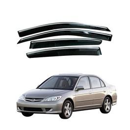 Honda Civic Air Press / Sun Visor With Chrome - Model 2004-2006-SehgalMotors.Pk