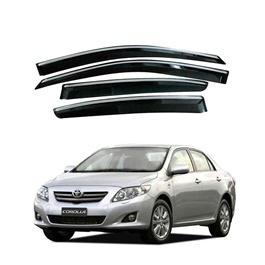 Toyota Corolla Air Press / Sun Visor With Chrome - Model 2008 - 2012-SehgalMotors.Pk