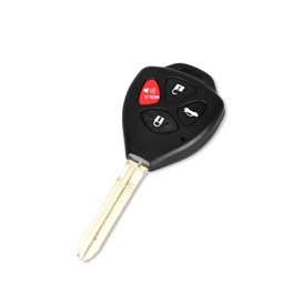 Toyota Camry 4 Button Replacement Key Shell Cover   Key Case Shell   Protective Shell Cover   Shell key Cover-SehgalMotors.Pk