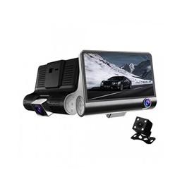 WDR Dashcam 3 Camera Lens Video Car DVR Full HD 1080P-SehgalMotors.Pk