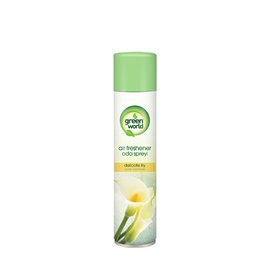 Green World Air Freshener Delicate Lily | Car Perfume | Fragrance | Air Freshener | Best Car Perfume | Natural Scent | Soft Smell Perfume-SehgalMotors.Pk
