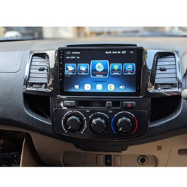 Toyota Hilux Vigo Android IPS LCD Multimedia Navigation System For Thailand Model - Model 2005-2016