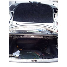 Toyota Corolla Protector Lid Trunk Garnish Namda - Model 2014-2017-SehgalMotors.Pk