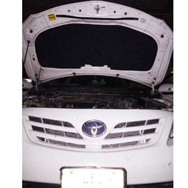 Toyota Corolla Bonnet Cover Protector Lid Garnish Namda - Model 2008-2012-SehgalMotors.Pk