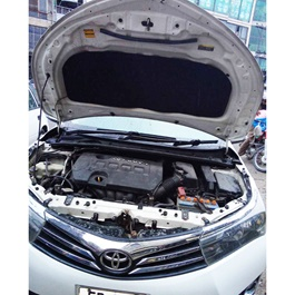 Toyota Corolla Bonnet Cover Protector Lid Garnish Namda - Model 2017-2020-SehgalMotors.Pk